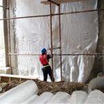 آب بندی نقاط بحرانی گود ساختمانی با ورق PVC