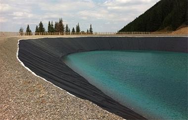ژئوممبران آب بند کننده استخر